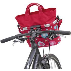 KlickFix Reisenthel Bikebasket Oval S, funky dots 2
